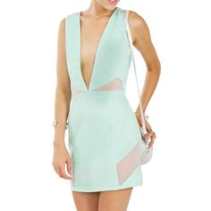 Mint Dress. New! New with tags. Not see though, nice thick material. Sugarlips Dresses Mini