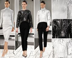Perfect with our silver shadow Soul Ice! Balenciaga - Fall 2013 #fashionfair #ontrend