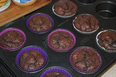 When I have a craving for something chocolatey, these are first on my list. With only 260 calories per muffin, less then 1 gram of net carbs and 25 grams of fat. These muffins should be a stapled i…