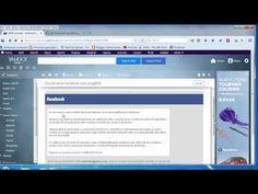 (122) Afla toate mesajele, postarile, accesarile unui cont de Facebook - YouTube