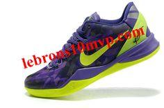 Nike Kobe 8 System Purple Gradient Volt Lime Green