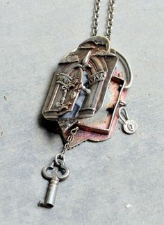 The Journey of Life Locket by EAdornments on Etsy