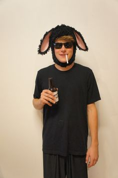 Black Sheep Funny Pun Adult Halloween Costume by DuelDesignShop