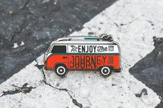 Enjoy the Journey VW Lapel Pin 1.25""