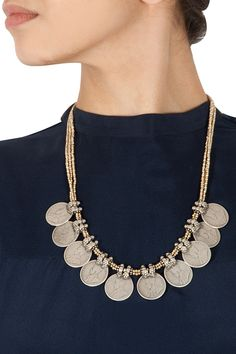 Coin necklace available only at Pernia's Pop-Up Shop.