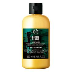 Banana Conditioner: Just started using this and it makes my hiar so soft and shiny!!! Love it!!! Nourish and protect your hair with an irresistible     smelling conditioner that leaves it free of tangles and easy to manage.