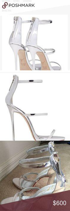Size 8 womens Giuseppe Zantoni Stalleto Heels really good condition heels #louisvitton #prada #Giuseppe #gucci #nike #adidas #jordan #vans Giuseppe Zanotti Shoes Heels