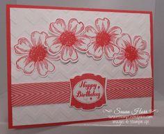 Flower Shop, Label Love, Chevron Ribbon, SUO, stampin up, susanstamps.wordpress.com