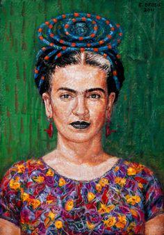 Frida Kahlo, Edward Ofosu, 2011
