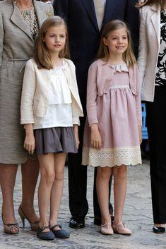 La princesa Leonor y la infanta Sofía, protagonistas de la misa de Pascua - Foto 2