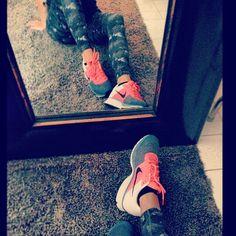 Nike Leg-A-See Camo tights!