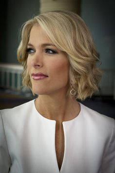 Megyn Kelly is my career role model!I want to do exactly what she does, someday!