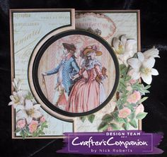 Kinetic Card made using Crafter's Companion Die'sire Create a Card ...