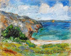 A Summer Day Swedish Visual  Artist INGE SCHIÖLER 1908-1971