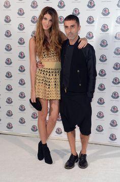 Socialite Bianca Brandolini and designer Giambattista Valli