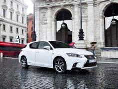 2014 Lexus CT 200h ITS SO GORGEOUS! I'm too tall for it but I still love it haha