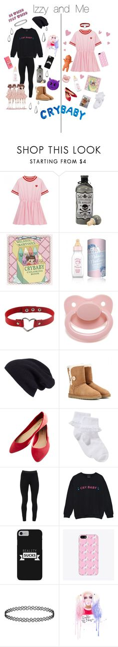 """""""Izzy and me"""" by dazzling-pink-elaina ❤ liked on Polyvore featuring Halogen, UGG Australia, Wet Seal, John Lewis, Peace of Cloth and Old Navy"""