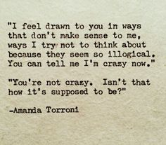 You're not crazy. Isn't that how it's supposed to be?