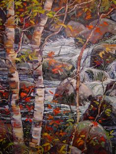 A Y Jackson (Group of Seven): 'The composition in this painting & the positioning are wonderful. Tom Thomson, Emily Carr, Group Of Seven Artists, Group Of Seven Paintings, Canadian Painters, Canadian Artists, Landscape Art, Landscape Paintings, Nature Artwork