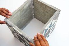 cache pot en carreaux de ciment pretacreer
