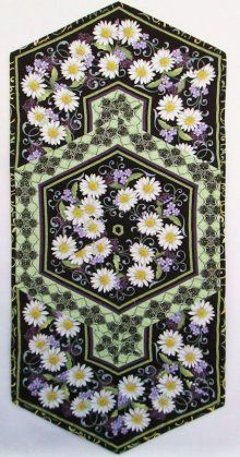 60 Degrees More He Still Loves Me Purple Daisy Table Runner Kit