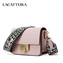 LACATTURA Luxury Small Handbags Women Flap Shoulder Bag Designer Clutch Fashion  Purse Crossbody Bags for Lady 7d2c572ea4a06