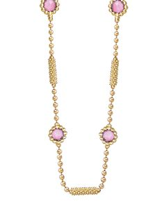 This is on the top of my wish list!!!  LAGOS Covet Pink Sapphire Gemstone Gold Necklace