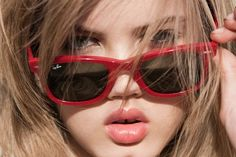 Red Ray Bans