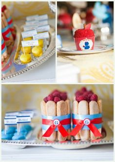 Snow White party - great styling!