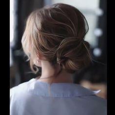 DIY Tutorial long hairstyles and updos#wedding #hairstyles #weddingideas #updos #weddingupdos