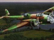 Handley Page Hampden Bomber Free Aircraft Paper Model Download