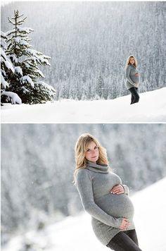 winter maternity photography ideas   Winter Maternity Photo Shoot Ideas