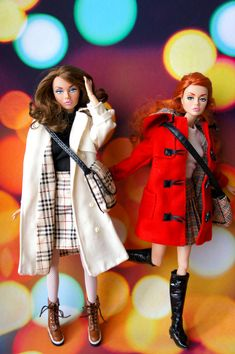 poppies by RockWan FR Barbie Life, Barbie World, Fashion Royalty Dolls, Fashion Dolls, Winter Outfits, Cool Outfits, Haute Couture Designers, Father Photo, Burberry Outfit
