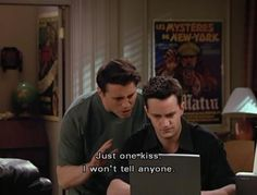 Chandler and Joey / Friends tv show