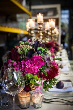 Florist Friday : Mary Jane Vaughan's Autumn Showcase Event | Flowerona
