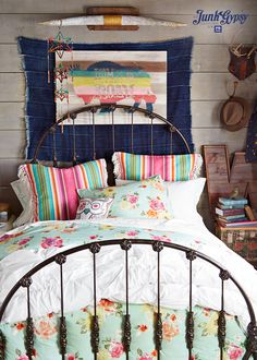 junk gypsy country blooms duvet for @pbteen