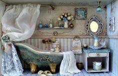 Baño con Miniaturas