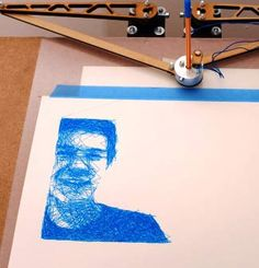 Real Pencil Sketching with Raspberry Pi