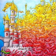 Imagimorphia by: @kerbyrosanes Dragon's Castle part I: Fire FC A. Dürer…