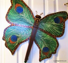 Table Leg and Spindle Dragonflies - A fun DIY decor idea!