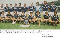 Football Club des Girondins de Bordeaux, 1985/86