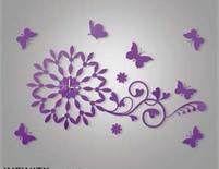 purple wall art - Bing Images