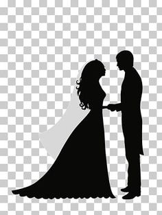 This PNG image was uploaded on March am by user: ManuX and is about Black And White, Bride, Bridegroom, Clip Art, Couple. Silhouette Art, Silhouette Studio, Bride And Groom Silhouette, Bridal Decorations, Surabaya, Wedding Images, Us Images, Wedding Couples, Color Trends