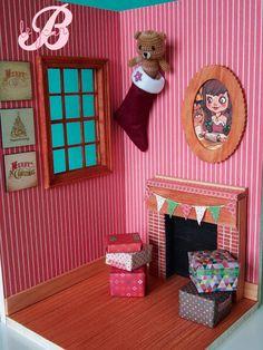 Diorama blythe house