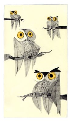 'Owl Night Long!' by Bubix (Laurent Bruno)