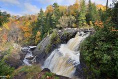Gabbro Falls near Bessemer, MI