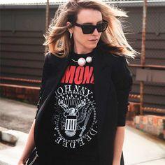 Ramones Tee #bandtee #tshirt #Ramones
