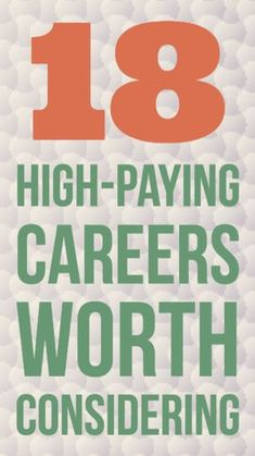 If you're college bound and considering future career options, this is a great list to consider.