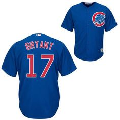Dress up your little one like the pros with this Majestic® Chicago Cubs youth replica Jersey. - Full button-front, On-Field MLB® baseball jersey - Tackle twill team wordmark or logo on front - Player