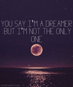 Imagine song imagine dreamer lyrics john lennon beatles